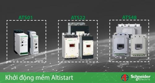 Vì sao nên sử dụng Bộ Khởi Động Mềm Altistart của Schneider Electric?