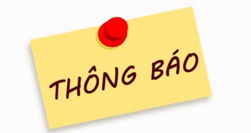 Thông báo nghỉ Quốc khánh 2-9-2019