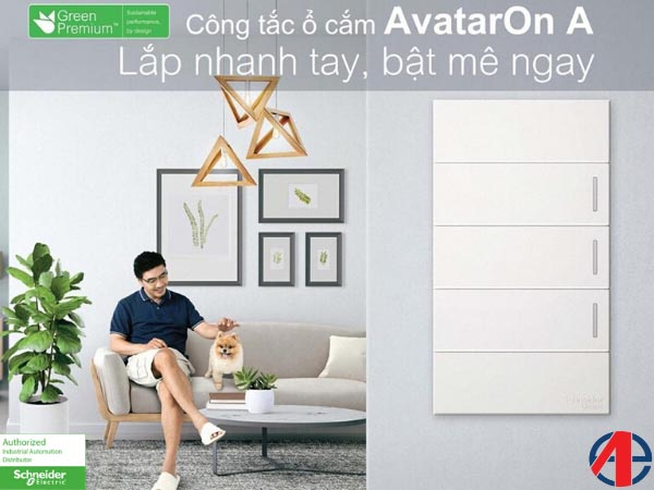 AvatarOn A Series Switches and Sockets
