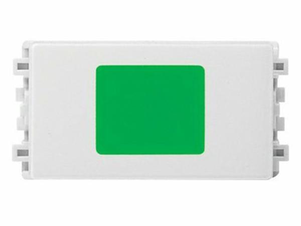 Công Tắc, Ổ Cắm Zencelo A - Đèn báo Led xanh,loại màu trắng