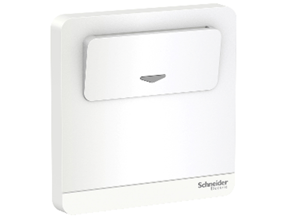 AvatarOn Series Switches and Sockets - 250V 16A Elec Keycard SW, White